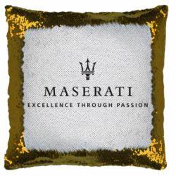 Подушка-хамелеон Maserati