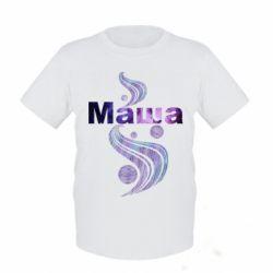 Детская футболка Маша