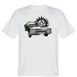 Мужская футболка Машина Винчестеров - FatLine