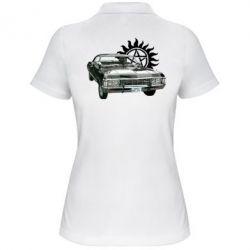 Женская футболка поло Машина Винчестеров - FatLine