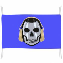 Прапор Mask Skull Call of Duty Warzone