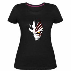 Жіноча стрейчева футболка маска Бліч