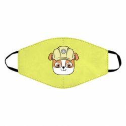 Маска для обличчя Dog in helmet