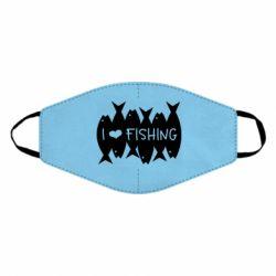 Маска для обличчя I Love Fishing