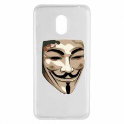 Купить V значит Vendetta, Чехол для Meizu M6 Маска Вендетта, FatLine