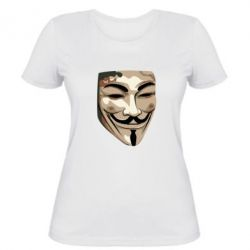 Жіноча футболка Маска Вендетта
