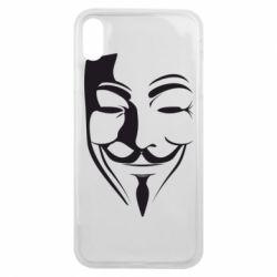 Чехол для iPhone Xs Max Маска Вендетта
