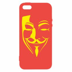 Чехол для iPhone5/5S/SE Маска Вендетта - FatLine