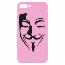 Чехол для iPhone 8 Plus Маска Вендетта - FatLine