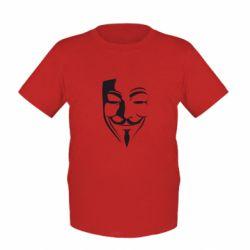 Дитяча футболка Маска Вендета