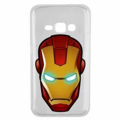 Чехол для Samsung J1 2016 Маскаа Железного Человека