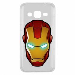 Чехол для Samsung J2 2015 Маскаа Железного Человека