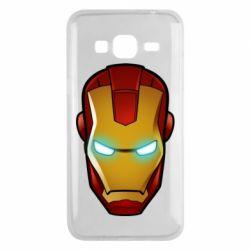 Чехол для Samsung J3 2016 Маскаа Железного Человека