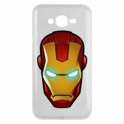 Чехол для Samsung J7 2015 Маскаа Железного Человека