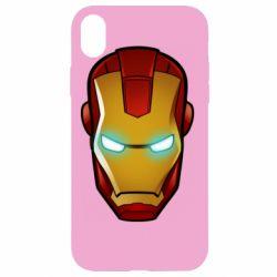 Чехол для iPhone XR Маскаа Железного Человека