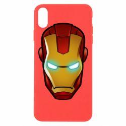Чехол для iPhone Xs Max Маскаа Железного Человека