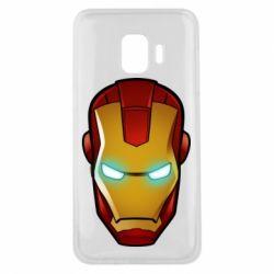 Чехол для Samsung J2 Core Маскаа Железного Человека