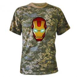 Камуфляжная футболка Маскаа Железного Человека - FatLine