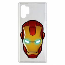 Чехол для Samsung Note 10 Plus Маскаа Железного Человека