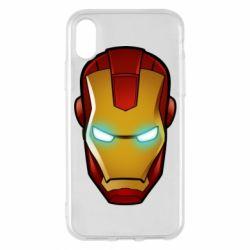 Чехол для iPhone X/Xs Маскаа Железного Человека