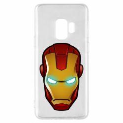Чехол для Samsung S9 Маскаа Железного Человека