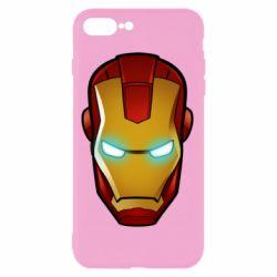 Чехол для iPhone 8 Plus Маскаа Железного Человека