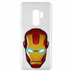 Чехол для Samsung S9+ Маскаа Железного Человека