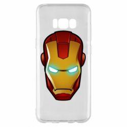 Чехол для Samsung S8+ Маскаа Железного Человека