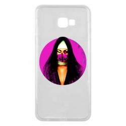 Чехол для Samsung J4 Plus 2018 Masked nun