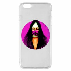 Чехол для iPhone 6 Plus/6S Plus Masked nun