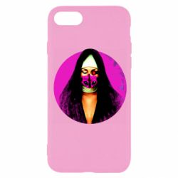 Чехол для iPhone 7 Masked nun