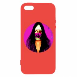 Чехол для iPhone5/5S/SE Masked nun