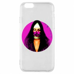Чехол для iPhone 6/6S Masked nun