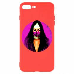 Чехол для iPhone 8 Plus Masked nun