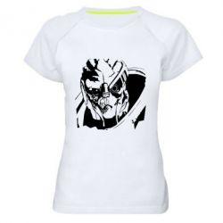 Купить Женская спортивная футболка Mass Effect 1, FatLine