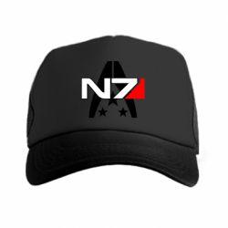 Купить Кепка-тракер Mass Effect logo N7, FatLine