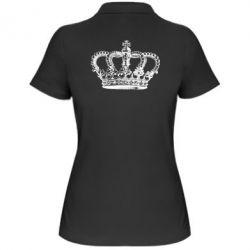 Женская футболка поло Массивная корона