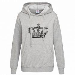 Женская толстовка Массивная корона