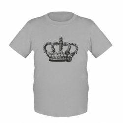 Детская футболка Массивная корона