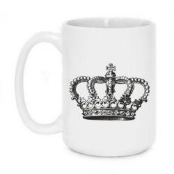 Кружка 420ml Массивная корона