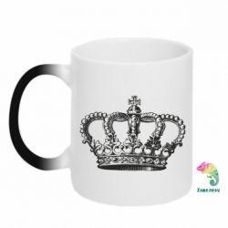 Кружка-хамелеон Массивная корона