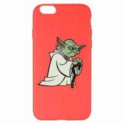 Чехол для iPhone 6 Plus/6S Plus Master Yoda