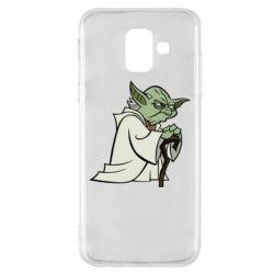 Чехол для Samsung A6 2018 Master Yoda