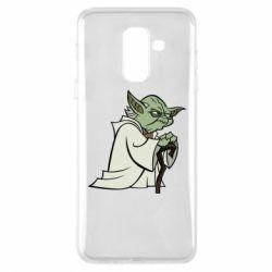 Чехол для Samsung A6+ 2018 Master Yoda
