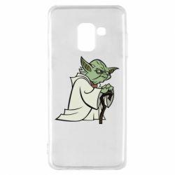 Чехол для Samsung A8 2018 Master Yoda