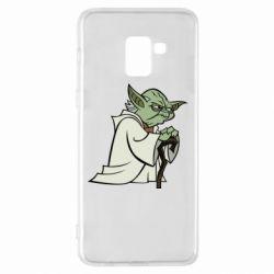 Чехол для Samsung A8+ 2018 Master Yoda