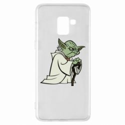 Чохол для Samsung A8+ 2018 Master Yoda