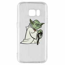 Чехол для Samsung S7 Master Yoda
