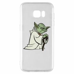 Чехол для Samsung S7 EDGE Master Yoda
