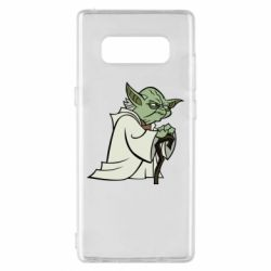 Чехол для Samsung Note 8 Master Yoda